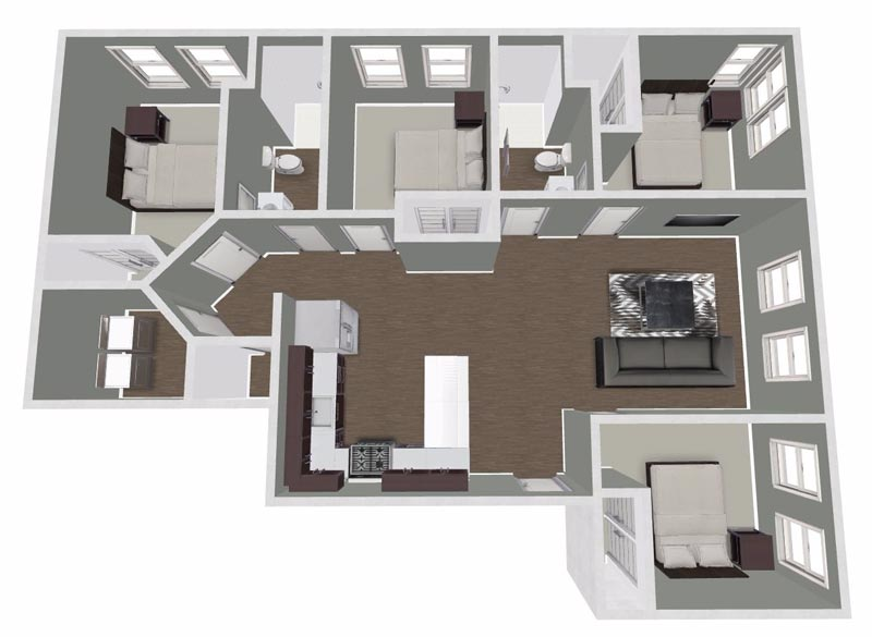 College Hill Apartments Cedar Falls